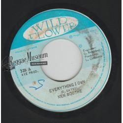 "Ken Boothe - Everything I Own - Wild Flower 7"""