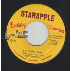"Ken Boothe - Im Going Home - Starapple 7"""