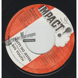 Big Youth - Natty No Jester - Impact 7""