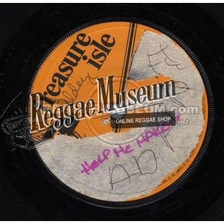 "Ken Parker - Help Me Make It - Treasure Isle 7"""
