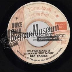 """Ken Parker - Help Me Make It - Duke Reid 7"""""""