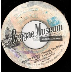 "Ken Parker - Help Me Make It Through The Night - Duke Reid 7"""