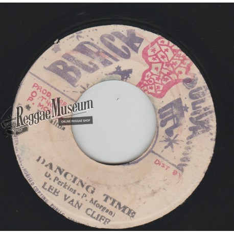 "Lee Van Cliff - Dancing Time - Black Solidarity 7"""