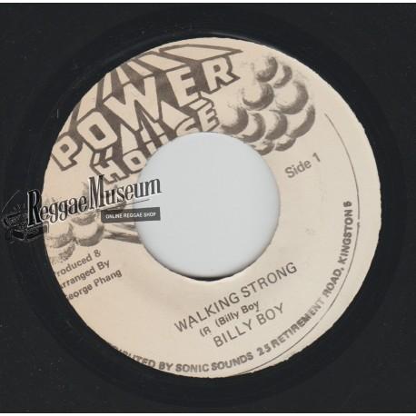 "Billy Boyo - Walking Strong - Power House 7"""