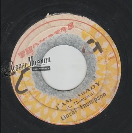 "Linval Thompson - I Am Ready - Thompson Sounds 7"""