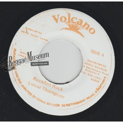 Linval Thompson - Rockfort Rock - Volcano 7""