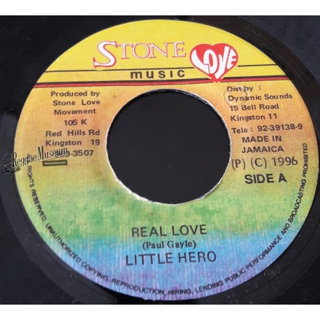 "Little Hero - Real Love - Stone Love 7"""
