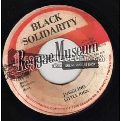Little John - Juggling - Black Solidarity 7""