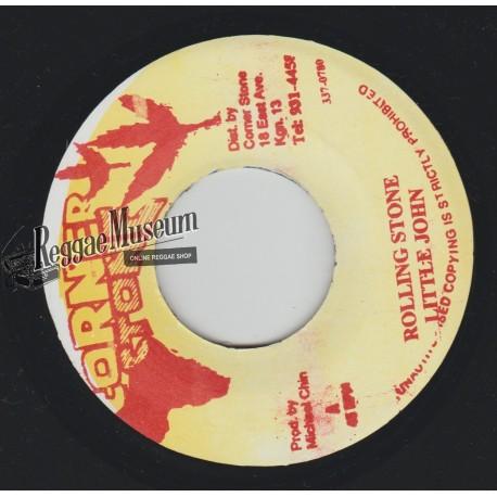 "Little John - Rolling Stone - Corner Stone 7"""