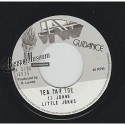 "Little John - Tic Tac Toe - Jah Guidance 7"""