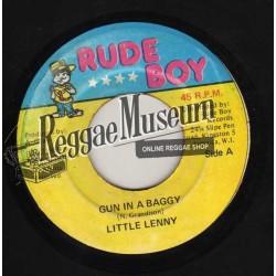 """Little Lenny - Gun In A Baggy - Rude Boy 7"""""""