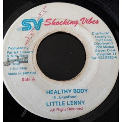 """LIttle Lenny - Healthy Body - Shocking Vibes 7"""""""