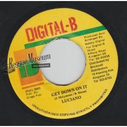 "Luciano - Get Down On It - Digital B 7"""