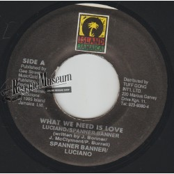 """Luciano - What We Need Is Love - Island 7"""""""