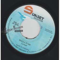 Lyrical - Hall Fi Me - Sunset 7""