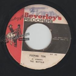 """Maytals - Peeping Tom - Beverleys 7"""""""