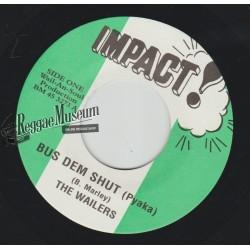 "Bob Marley & Wailers - Bus Dem Shut - Impact 7"""