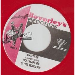 """Bob Marley & Wailers - Caution - Beverleys 7"""""""