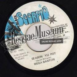 """Mega Banton - Season Your Pot - Black Scorpio 7"""""""