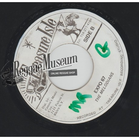 Melodians - Expo 67 - Treasure Isle 7""