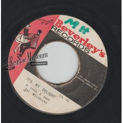 Melodians - Its My Delight - Beverleys 7""