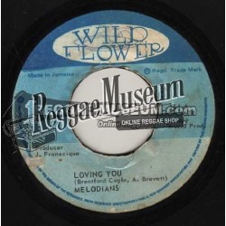 Melodians - Loving You - Wild Flower 7""