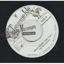 Melodians - What More Can I Say - Treasure Isle 7""