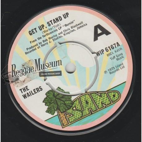 "Bob Marley & Wailers - Get Up Stand Up - Island 7"""