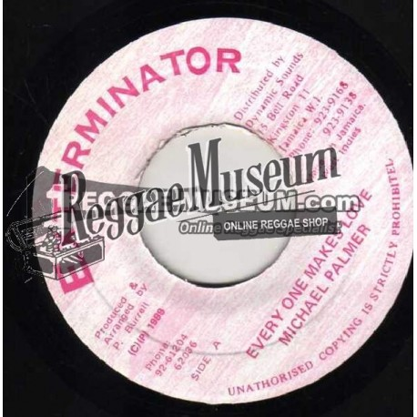 "Michael Palmer - Every Ones Makes Love - Exterminator 7"""