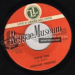 "Michael Prophet - Cease Fire - Live & Learn 7"""