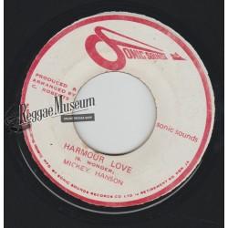 "Mickey Hanson - Harmour Love - Sonic Sounds 7"""