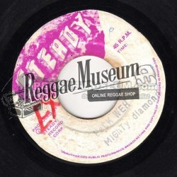 Mighty Diamonds - Back Weh - Steady 7""