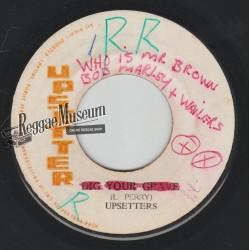 "Bob Marley & Wailers - Mr Brown - Upsetter 7"""