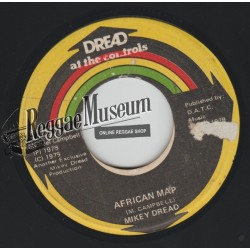 Mikey Dread - African Map - Dread At The Controls 7""