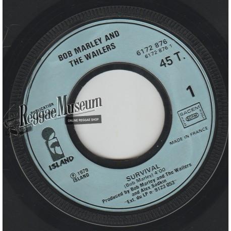 """Bob Marley & Wailers - Survival - Island 7"""""""