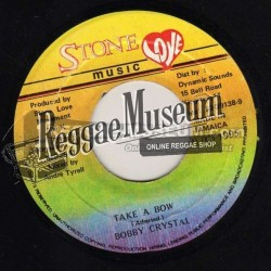 "Bobby Crystal - Take A Bow - Stone Love 7"""