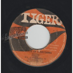 """Peggy McClarty & Cimarrons  - All Kinds Of Everything - Tiger 7"""""""