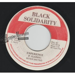 Peter Metro - Experience - Black Solidarity 7""