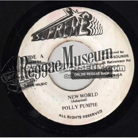 "Polly Pumpie - New World - Supreme 7"""