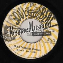 "Prince Hammer - Good Morning Teacher - Soul Beat 7"""