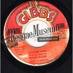 "Prince Jazzbo - 12 Tribe Posse - Joe Gibbs 7"""
