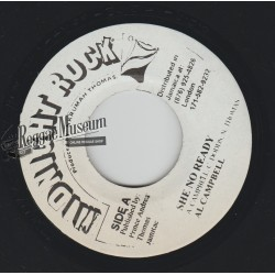 Al Campbell - She No Ready - Midnight Rock 7""