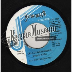 Bounty Killer - Cellular Number - Jammys 7""