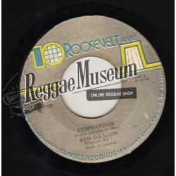 Red Dragon - Commandor - 10 Roosevelt Ave 7""