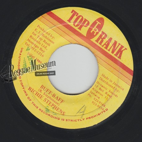 "Richie Stephens - Buff Baff - Top Rank 7"""