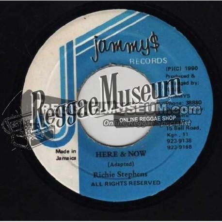"Richie Stephens - Here & Now - Jammys 7"""