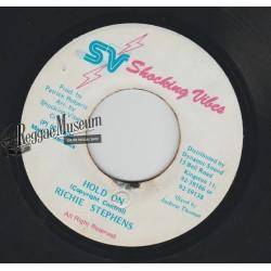 "Richie stephens - Hold On - Shocking Vibes 7"""