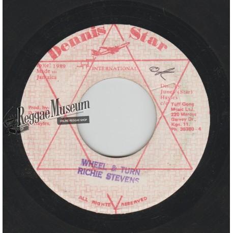 "Richie Stephens - Wheel And Turn - Dennis Star 7"""