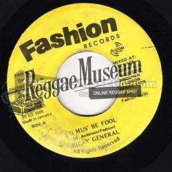 Ricky General - It Must Be Fool - Fashion 7""