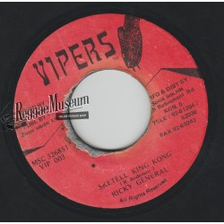 Ricky General - Sketell King King - Vipers 7""